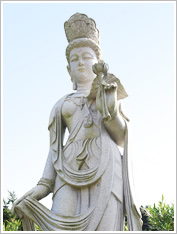 Statue of the Deity of Marcy